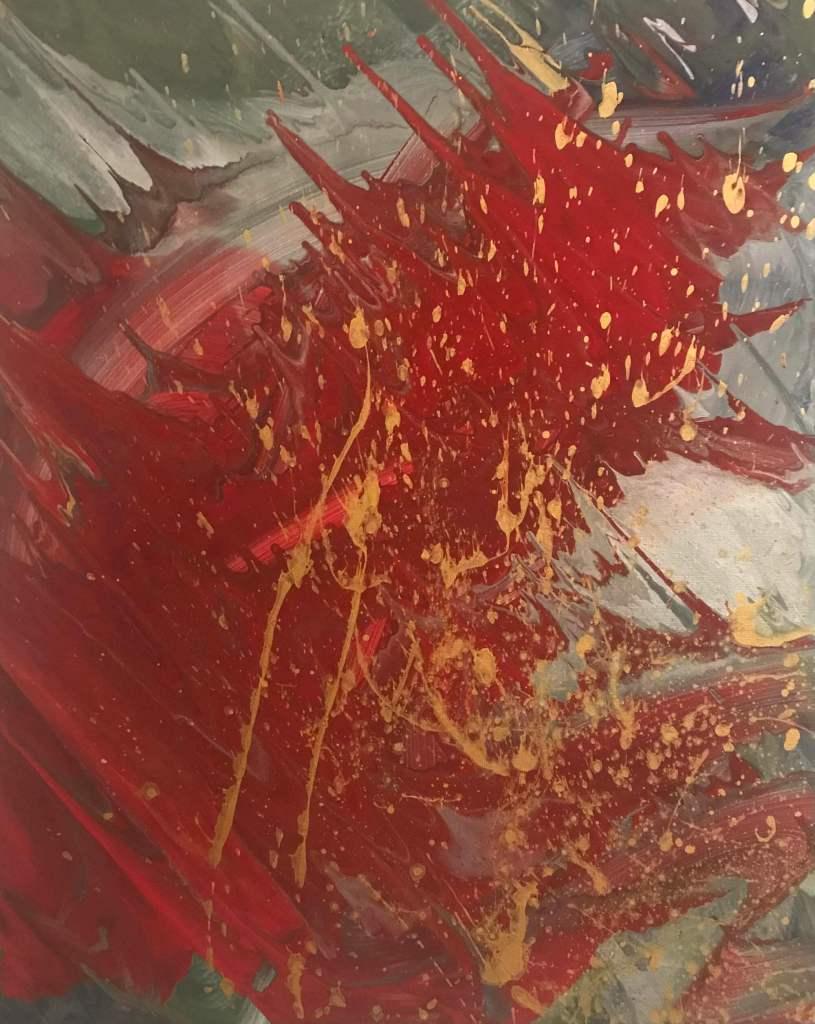 Imprevisto emotivo 40x50 cm Tempera su tela  140€
